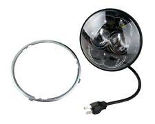 Faro Proiettore Tondo Universale Anteriore 8 LED OMOLOGATO ⌀ 114 mm Moto NAKED