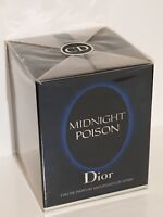CHRISTIAN DIOR MIDNIGHT POISON 50ML NEW SEALED FOR WOMEN VERY RARE