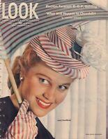 Look April 16 1946 Joan Caulfield Vincent Sheean Frank Bauman 010219DBE