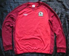 BLACKBURN ROVERS Training Jacket Sweat Top UMBRO 2010-2011/adult SIZE XL