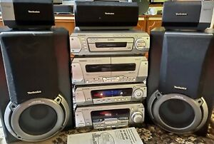 Technics EH-750 Stereoanlage Dolby Surround ProLogic + Boxen Japan Komplett TOP