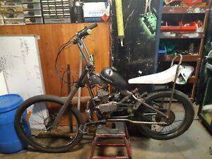 Motorised bike ,one of a kind rare