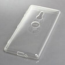 Silicon Case TPU Hülle Schutz für Sony Xperia XZ2 transparent