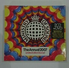Ministry Of Sound - The Annual 2007 (2x CD + DVD) (Limited Edition Box Set)