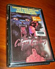 Vintage - The Corpse Grinders -  Fantasy Thriller VHS Tape - Star Video