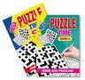 Mega Crossword Wordsearch Puzzle Book Books 450 Puzzles A5 Pages Trivia Puz/time