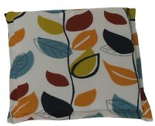 2x culcita Extérieur mobilier de jardin Banc Siège Chaise Cushion Pad-Autumn Leaf