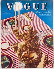 LEE MILLER Carl Erickson PARKINSON Cecil Beaton Vogue magazine January 1942 VTG