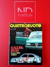 QUATTRORUOTE 192 DICEMBRE 1971 - NSU 1200 C  FIAT 128 COUPE'  DE TOMASO 1600