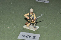 65mm colonial / british - figs beau geste infantry metal painted - inf (4643)