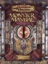 Monster Manual: Core Rulebook III v. 3.5 (Dungeons & Dragons d20 System) (HC)