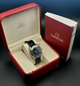 OMEGA Seamaster Diver 300m Automatic Apnea Jacques Mayol Men's Watch 2595.30.00