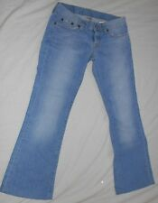 LUCKY BRAND DREAM JEAN DUNGAREES JEANS 2/26 FLARE LIGHT BLUE GREAT CONDITION