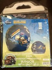 NEW DISNEY CARS MISSION IMPROBABLE JUNIOR BEAN BAG COVER