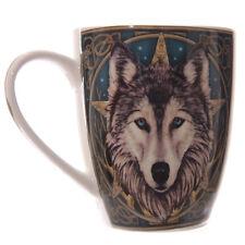 Pair Of Wolf Head Lisa Parker Bone China Mug