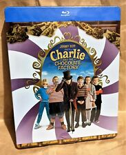 Charlie And The Chocolate Factory Blu-Ray France Steelbook *English Audio*