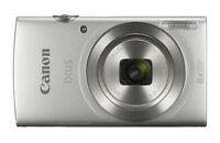 CANON Ixus 185 Digitalkamera, 20 Megapixel, 8x opt. Zoom, Silber *Defekt*
