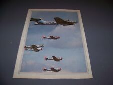 "VINTAGE..B-17 ""SENTIMENTAL JOURNEY"" ...COLOR PHOTO PAGE..RARE! (785L)"