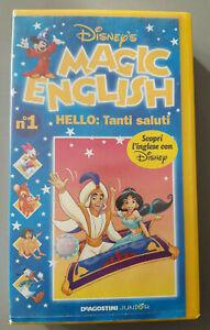 Disney's Magic English - N°1 - 5 - 8 VHS