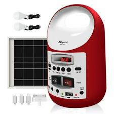 soyond Portable Solar Generator with Panel, Solar Powered Electric Generator Kit