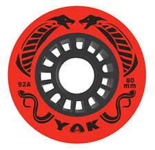 80mm x 92a (very hard) Hockey Wheels, YAK Cobra, set of 8