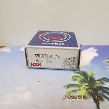 NSK 7201CTYDULP4 VE-32 PRECISION BALL BEARING (NEW NEVER USED)