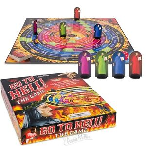 Go To Hell! The Board Game By Archie McPhee - Seven Deadly Sins Adult Party Game