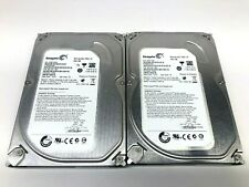 "Lot of 2 Seagate ST3500418AS 500GB 16MB 7200RPM 3.5"" SATA 6Gb/s HDD"