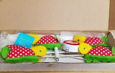 Vintage Baby Crib Musical Mobile By Eden Turtles still in box 70's