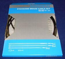 Shimano Standard Road or Mtb Bike Brake Cable Set Black Y80098022