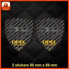 0079 Sticker carbone OPEL MOTORSPORT corsa astra adam mokka aufkleber adesivi