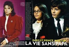 Coupure de Presse Clipping 2010 (6 pages) Paris et Prince Jackson