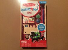 Melissa & Doug Created by Me! Train Wooden Craft Kit
