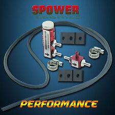Universal Red Adjustable Turbo Boost Controller Manual With Fitting Kits New