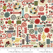 MODA Fabric ~ WINTER VILLAGE ~ by BasicGrey (30553 11) White - by 1/2 yard