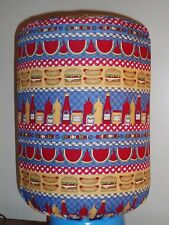 PICNIC BBQ HOT DOG PARTY 5 GALLON WATER COOLER BOTTLE COVER KITCHEN DECORATION
