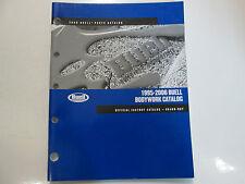 1995 1997 1999 2001 2006 Buell Bodywork Parts Catalog Manual FACTORY OEM BOOK