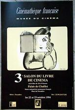SALON DU LIVRE CINEMA Cinémathèque française Palais de Chaillot PIERRE ETAIX '94
