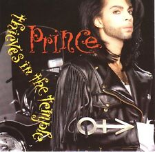 """PRINCE Thieves In The Temple PICTURE SLEEVE 7"""" record + juke box title strip NEW"""