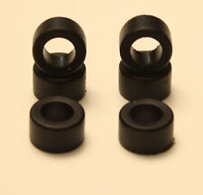 6 Rear Tires for AFX Magna-traction Slot Cars Aurora !!!!!!!!