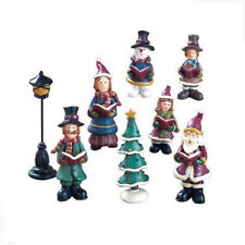 NEW! Christmas Choir/Caroler Figurine Set *8-Piece* Handpainted w/ Storage Box