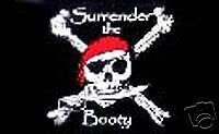Pirate  RV NASCAR Toy Box Camping Trailer  flag #R-0027