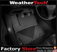 WeatherTech All-Weather Floor Mats - Mazda Mazda3 - 2004-2009 - Black