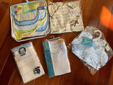 NEW Preemie Baby Clothes and Bibs Lot Of 20 All NEW in Package