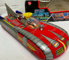 Vintage  Astronef  Battery  Operated  Space  Ship - ME 102 – In Box