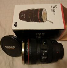 Canon EF 24-105mm f/4.0L USM Camera Lens LIDDED MUG/thermos- Great 4photographer
