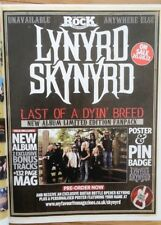 LYNYRD SKYNYRD Last Of Dying Breed magazine ADVERT/Poster/clipping 11x8 inches