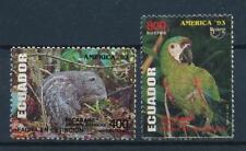 [61760] Ecuador 1993 UPAEP America Parrot Birds, Rodent  MNH
