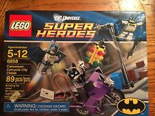 LEGO 6858 Catwoman Catcycle City Chase New in sealed box!