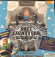 INTERGALACTIC BUZZ LIGHTYEAR ULTIMATE TALKING ACTION FIGURE DISNEY #62891